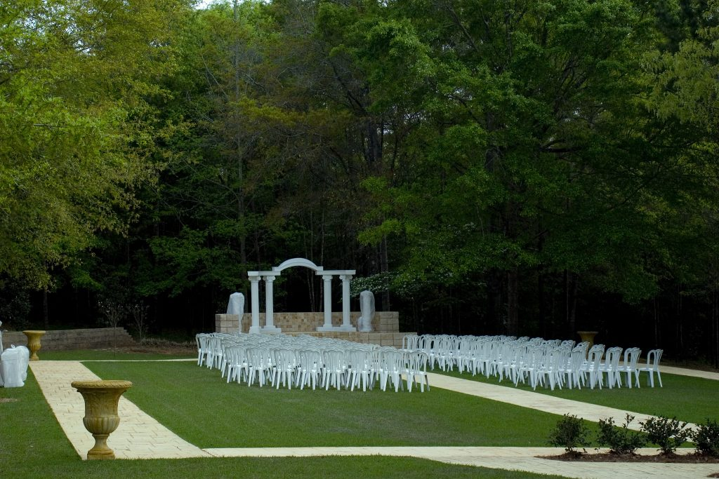 Wedding Garden Ricketts Pergola